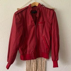 Vintage Members Only Maroon Sports Jacket
